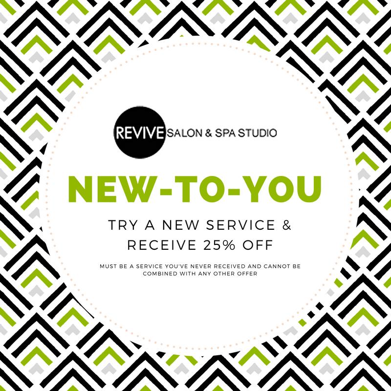 Revive Salon September Promotion
